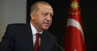 أردوغان يهنئ المسلمين
